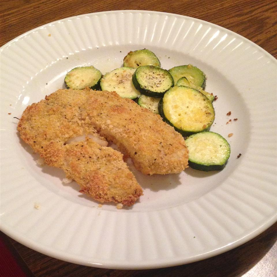 Crunchy Oven Fried Tilapia Amber W