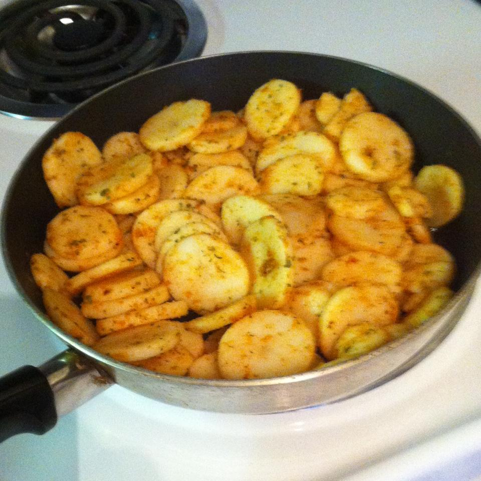 Spiced Up Potatoes tototoo