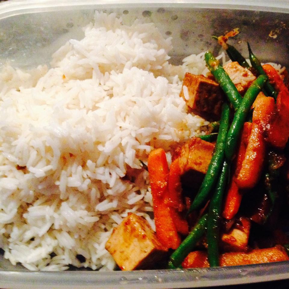 Garlic Ginger Tofu Mary Bache