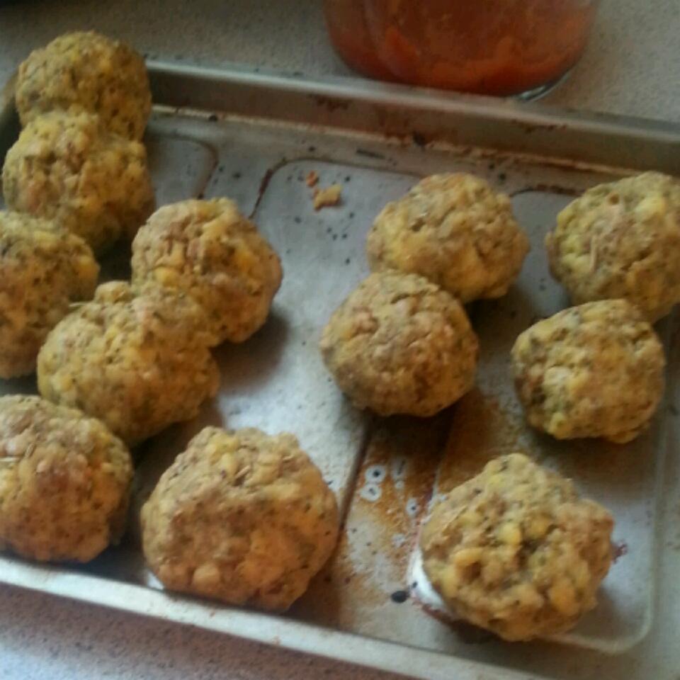 Tempeh 'Meatballs' halosandbagels