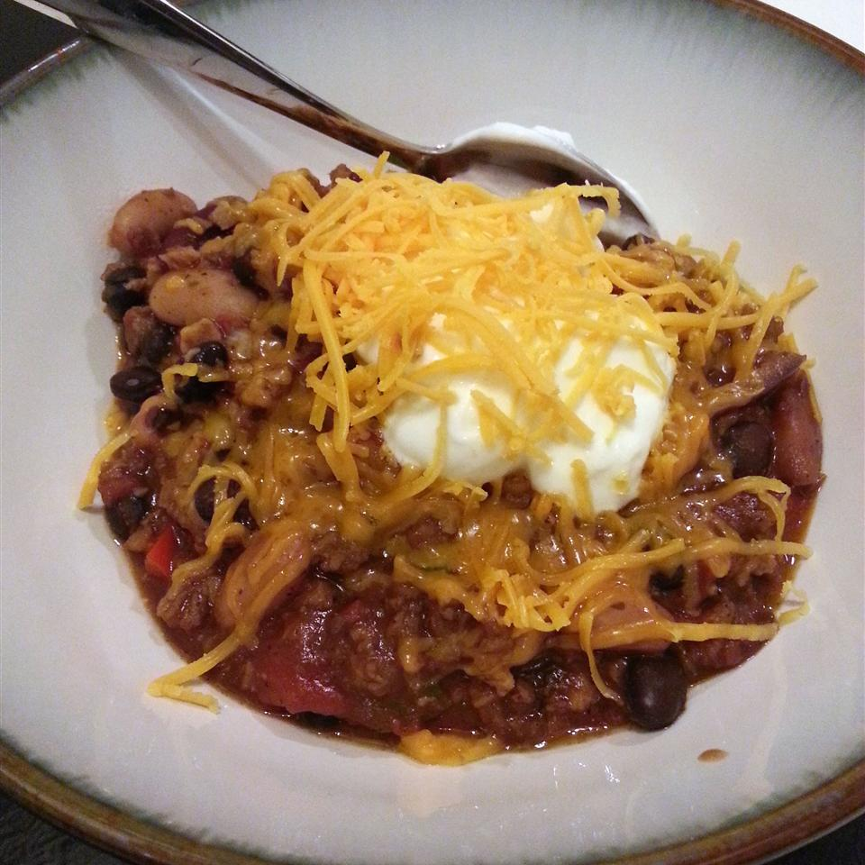 Unbelievably Easy and Delicious Vegetarian Chili gagel
