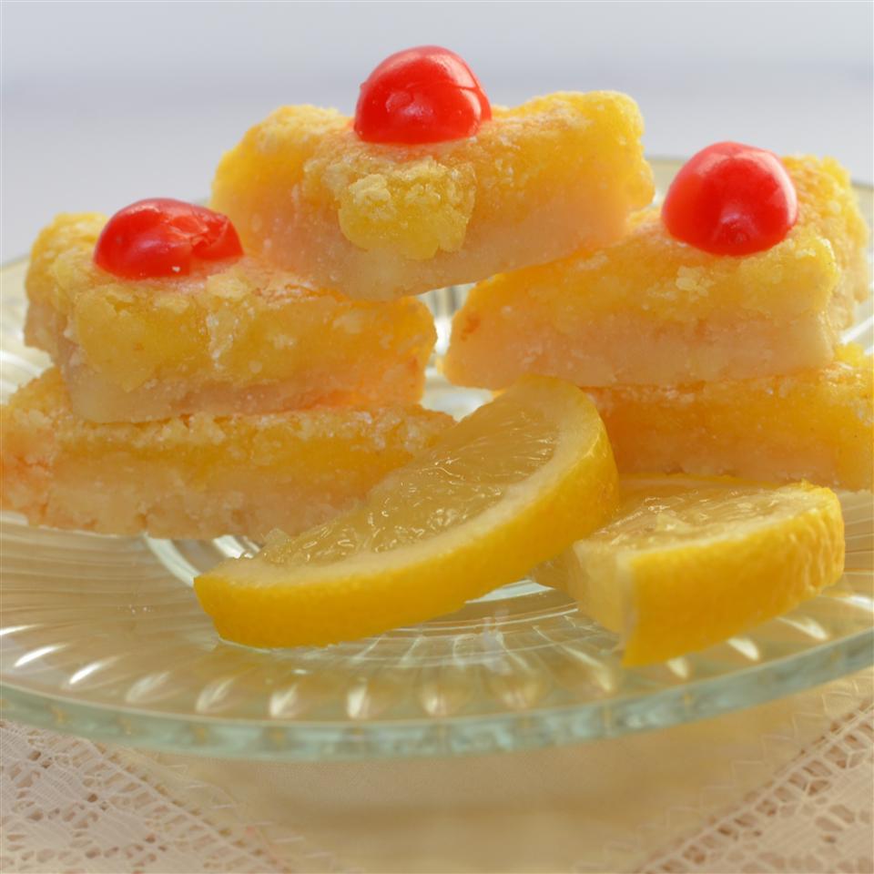 Luscious Lemon Triangles