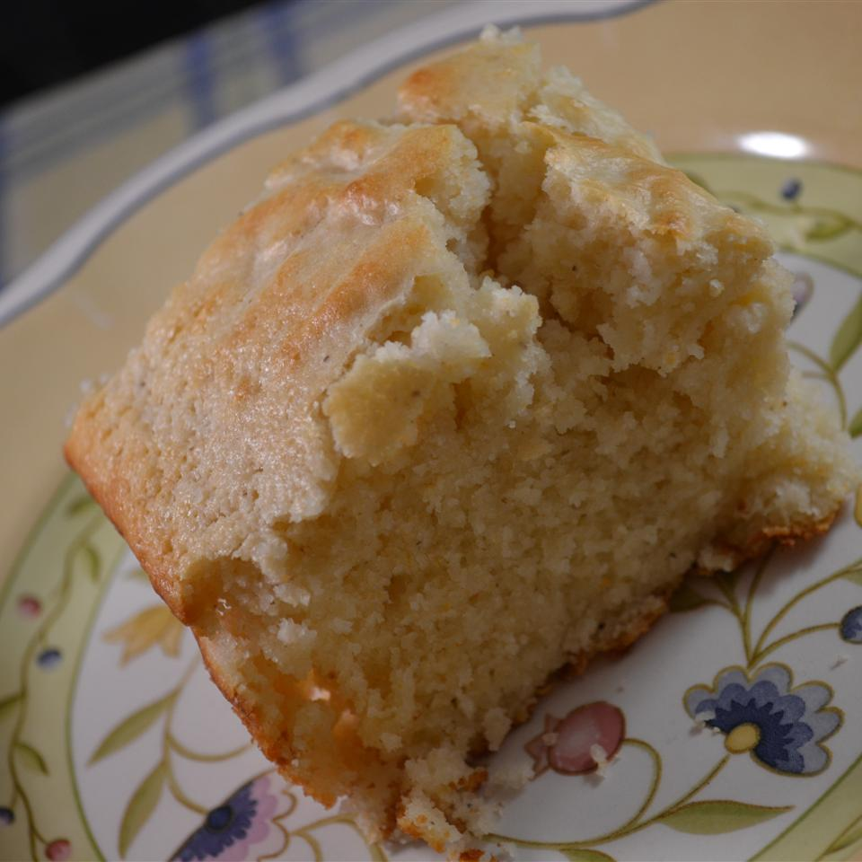 Cornbread Made with Coconut Oil Rebekah Rose Hills