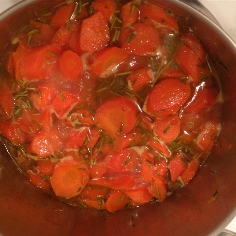 Honey Rosemary Carrots
