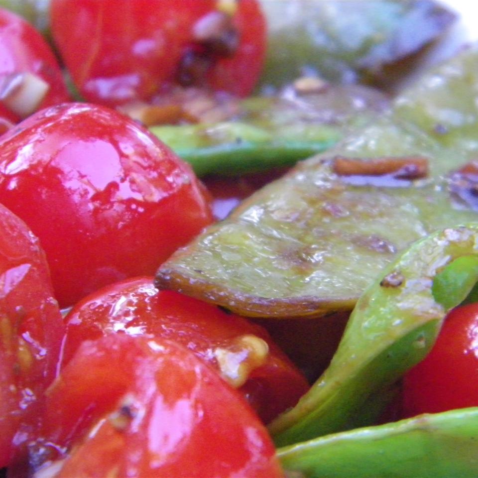 Cherry Tomato Snap Peas Seattle2Sydney