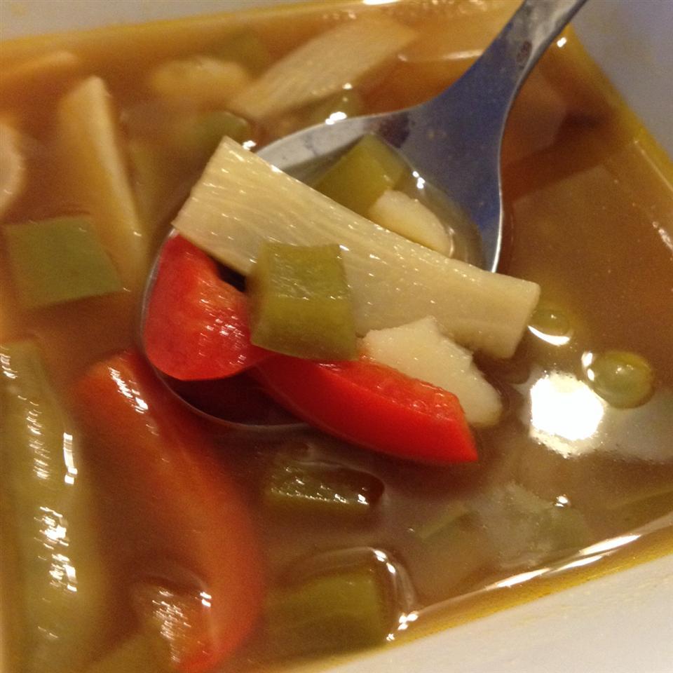 Hot and Sour Soup with Tofu Jess Nemcová