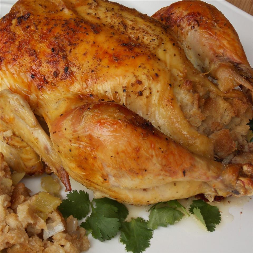 Celery Herb Stuffing and Savory Chicken Loretta's Recipe Journal
