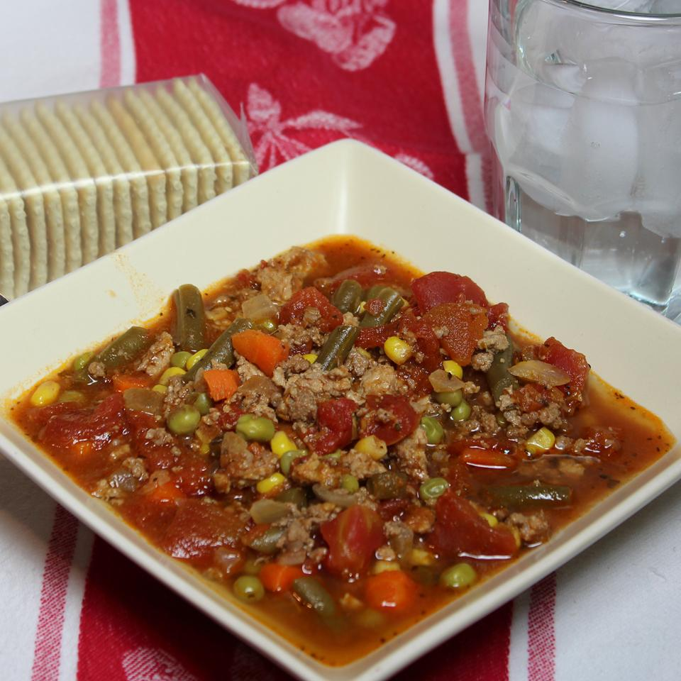 Quick and Easy Vegetable Beef Soup Paula