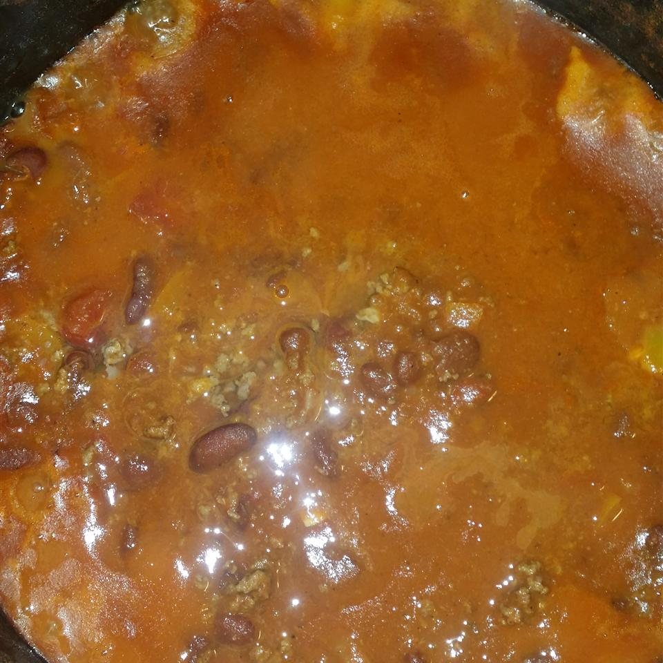 Spicy Slow-Cooked Chili J'Lynn Cates