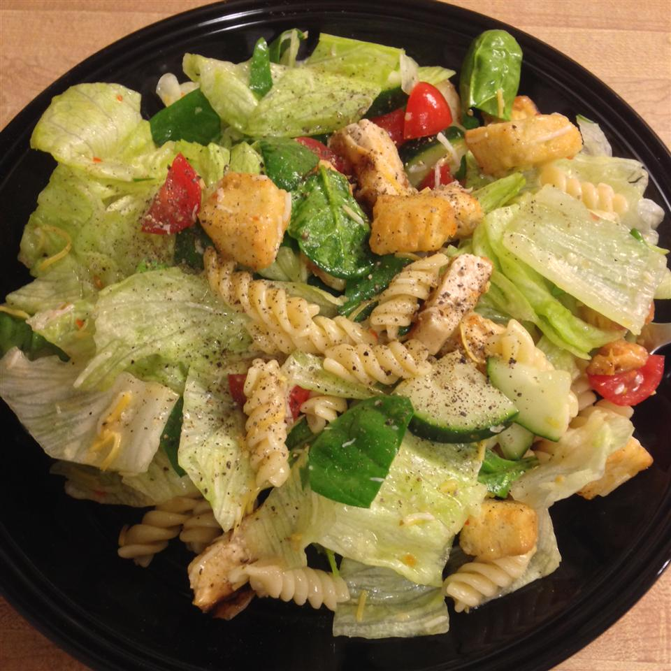 Grilled Chicken and Pasta Salad Josh Ogles