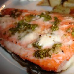 Grilled Cilantro Salmon Julie