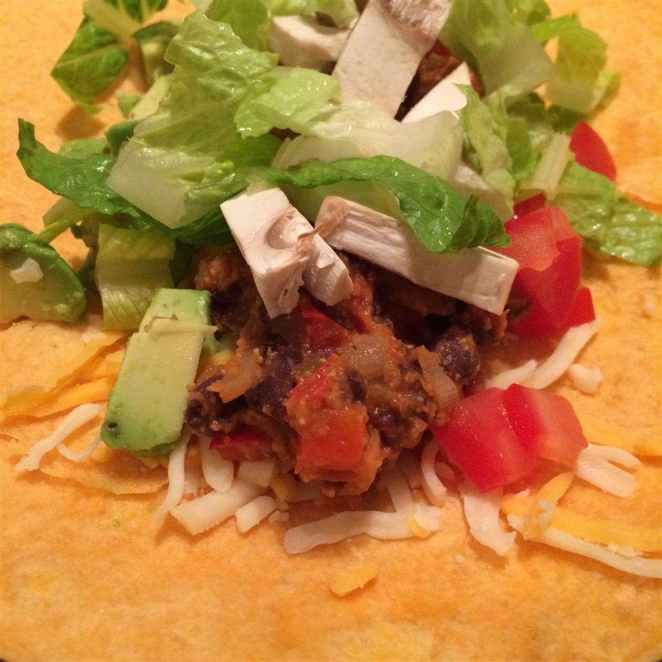 Vegan Bean Taco Filling