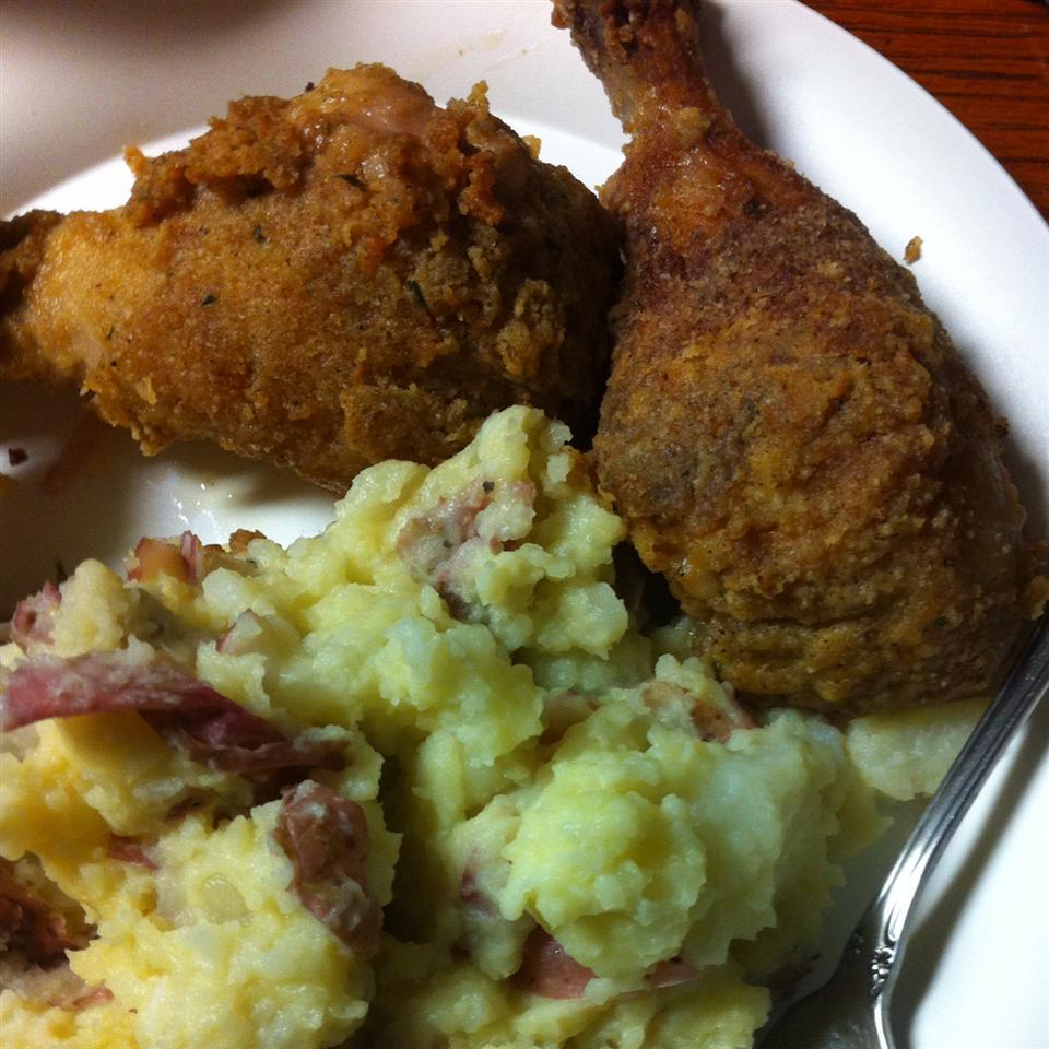 Garlic Chicken Fried Chicken cmarie