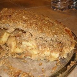Dutch Apple Pie with Oatmeal Streusel luvmyitalianhubby