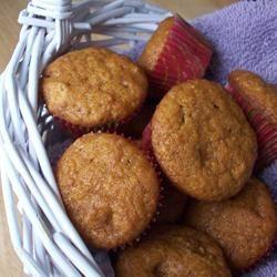 Mini Pumpkin Butterscotch Muffins CookinBug