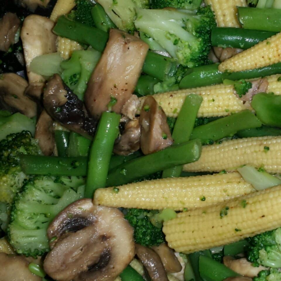 Quick Cajun Vegetables Chrissy DeCosmo Fessler