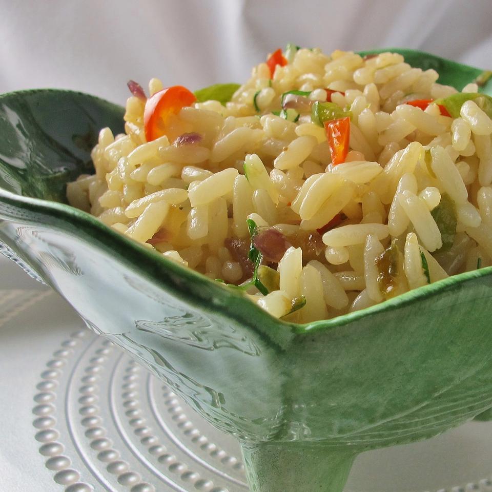 Green Pepper Rice