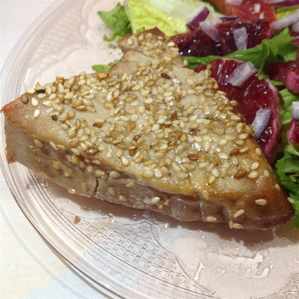 Sesame-Crusted Tuna with Summer Salsa