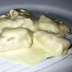 Four Cheese Sauce Manda