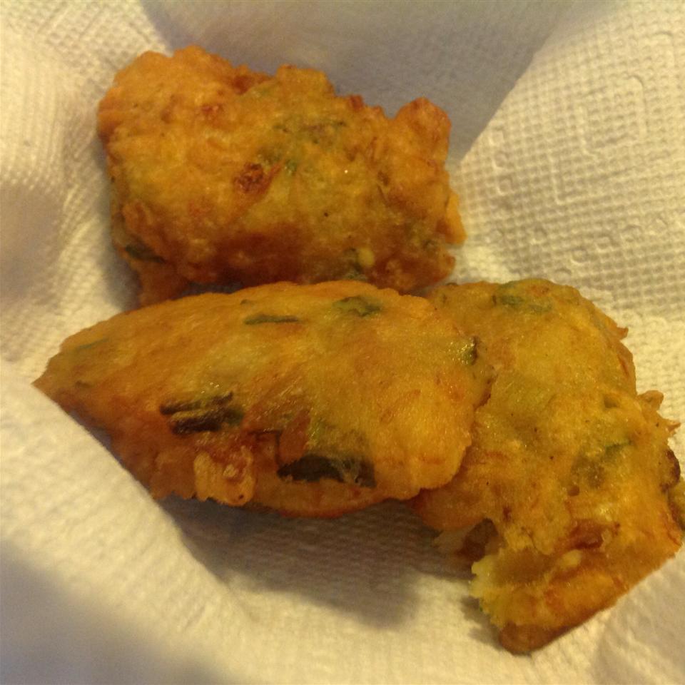 Jamaican Saltfish Fritters (Stamp and Go) savion