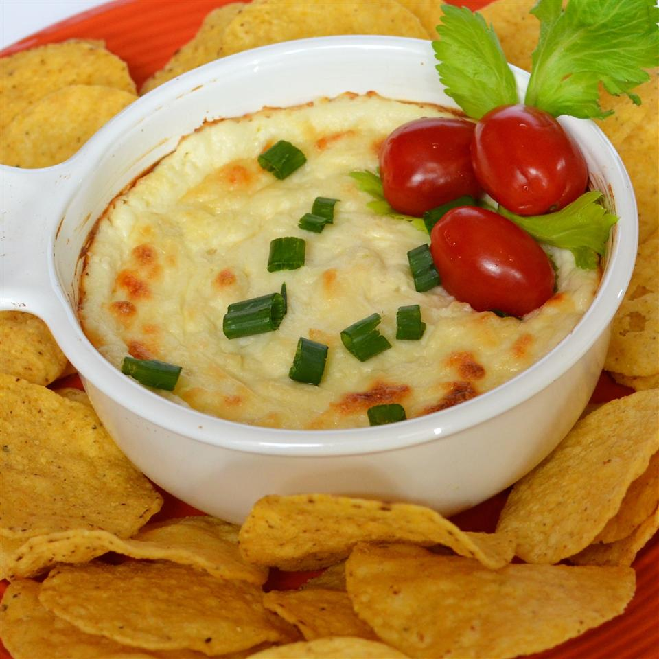 Quick and Easy White Cheese Dip