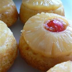 Mini Pineapple Upside-Down Cakes Lori L.