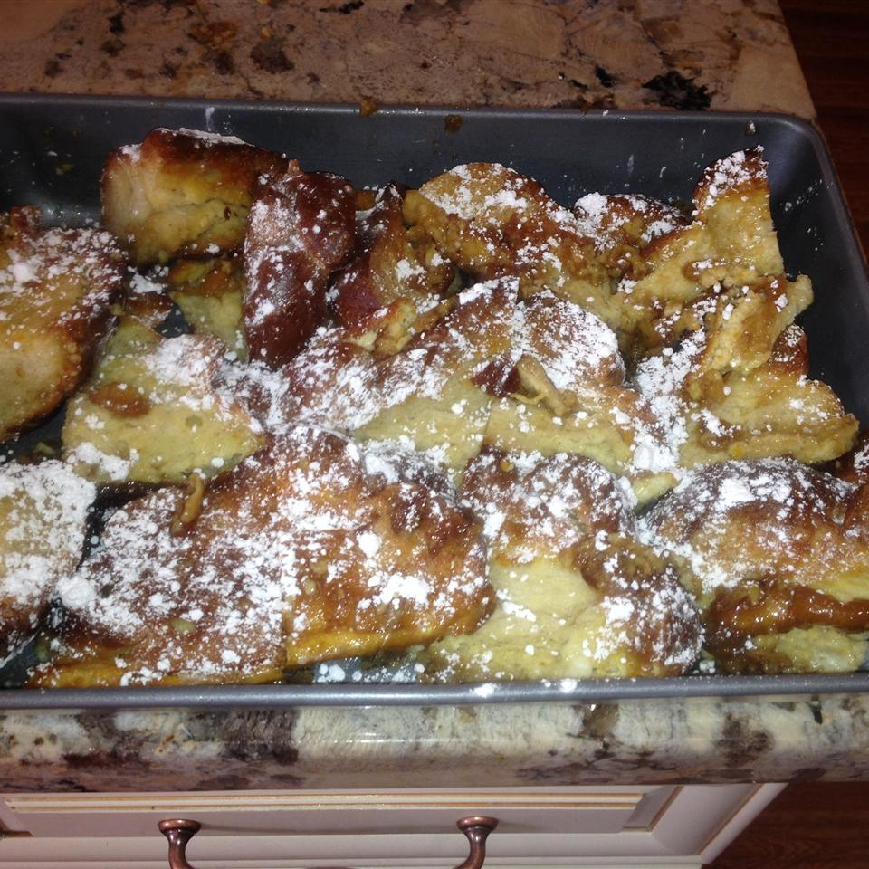 Creme Brulee French Toast Marilyn Pinillos