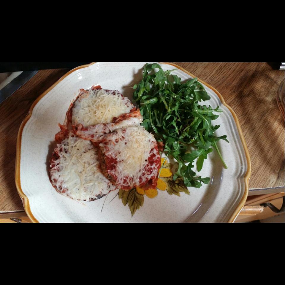 Quick Eggplant Parmesan