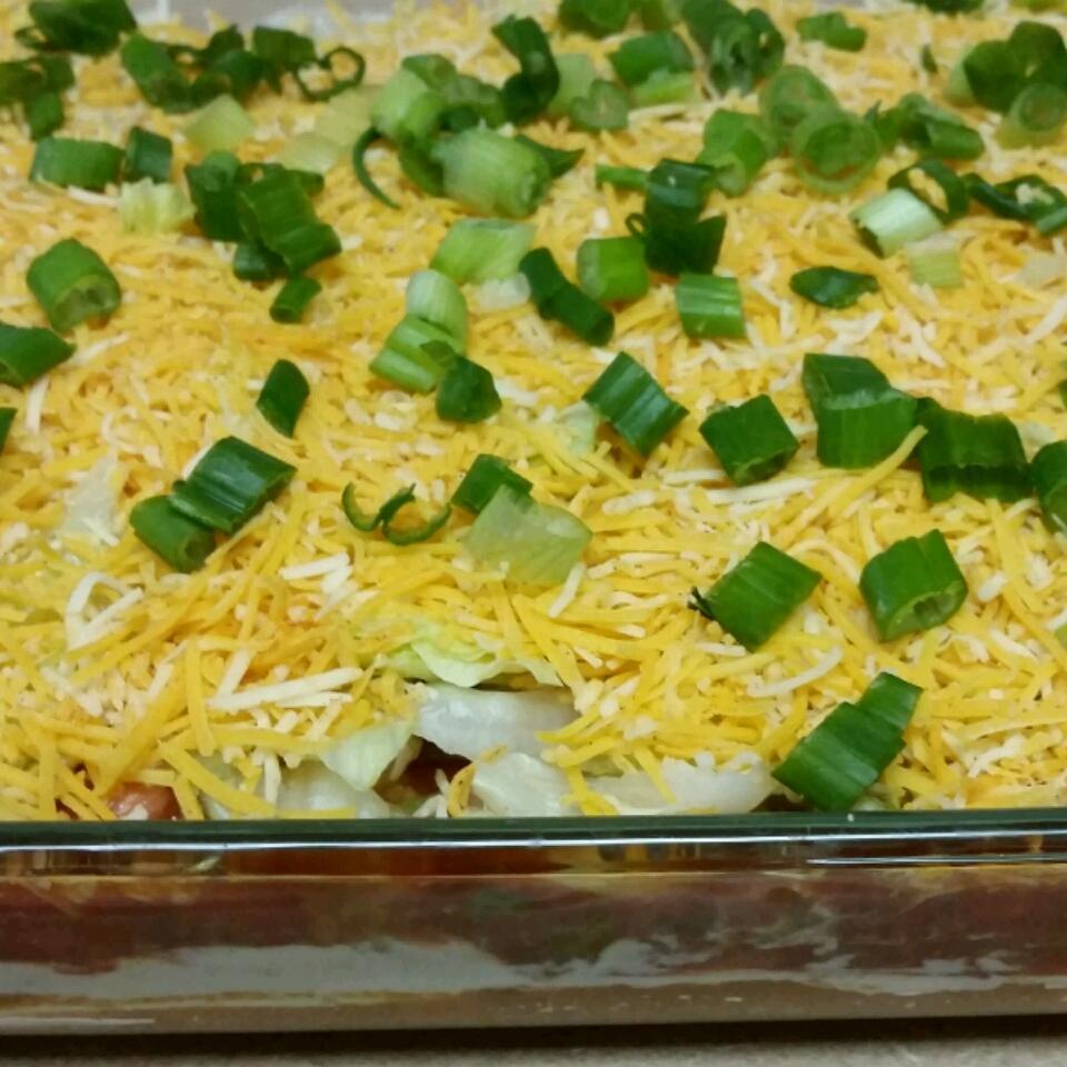 Healthier Seven Layer Taco Dip Chef Christian