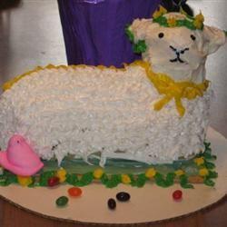 Easter Lamb Cake I Finnishflower
