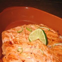 Lime-Marinated Grilled Salmon
