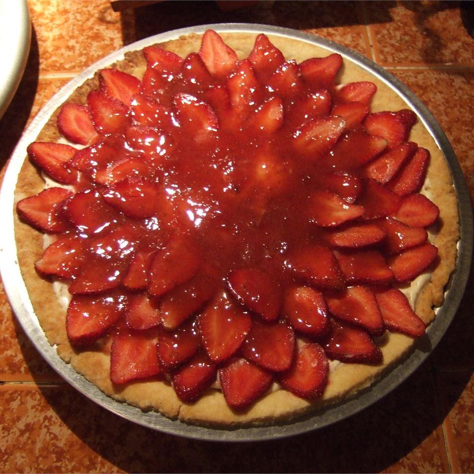 Strawberry Cheese Pie Marion Goldstein