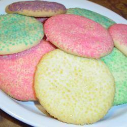 Powdered Sugar Cookies I SHORECOOK