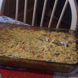 Chicken and Wild Rice Casserole Laura Wyatt