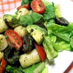 Green Salad with Dried Mint SunnyByrd