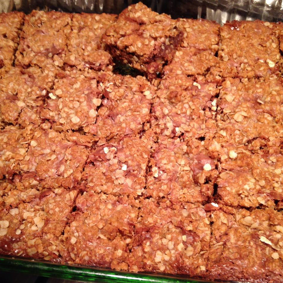 Chocolate Oatmeal Bars colleen