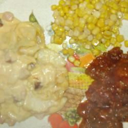 BBQ Glazed Homemade Meatballs