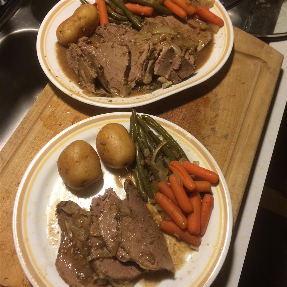 Slow Cooker Roast Mark