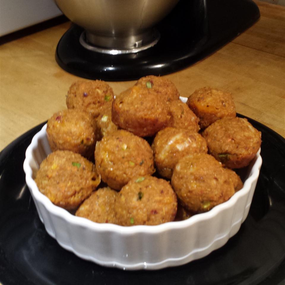 Savory Turkey Sausage Quinoa Bites Beca Nee