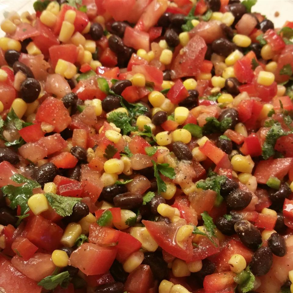 Zesty Black Bean and Corn Salsa