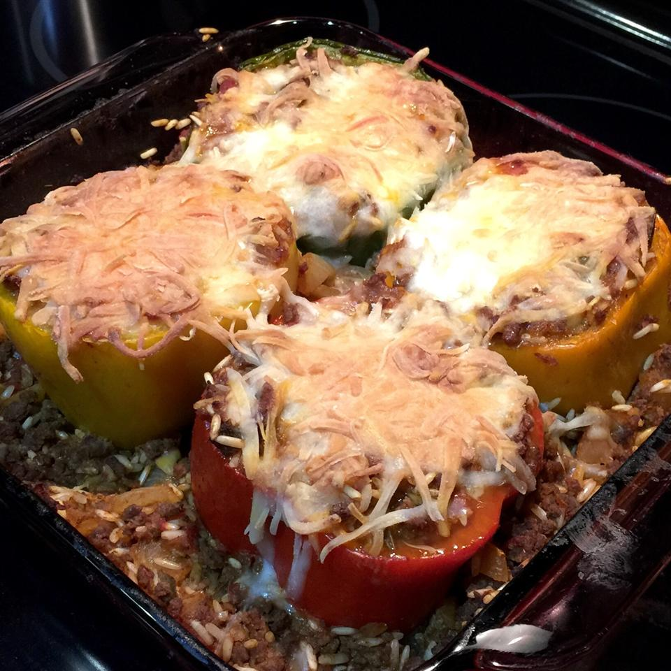 Mexican Stuffed Peppers Liz Roux-Tomkinson