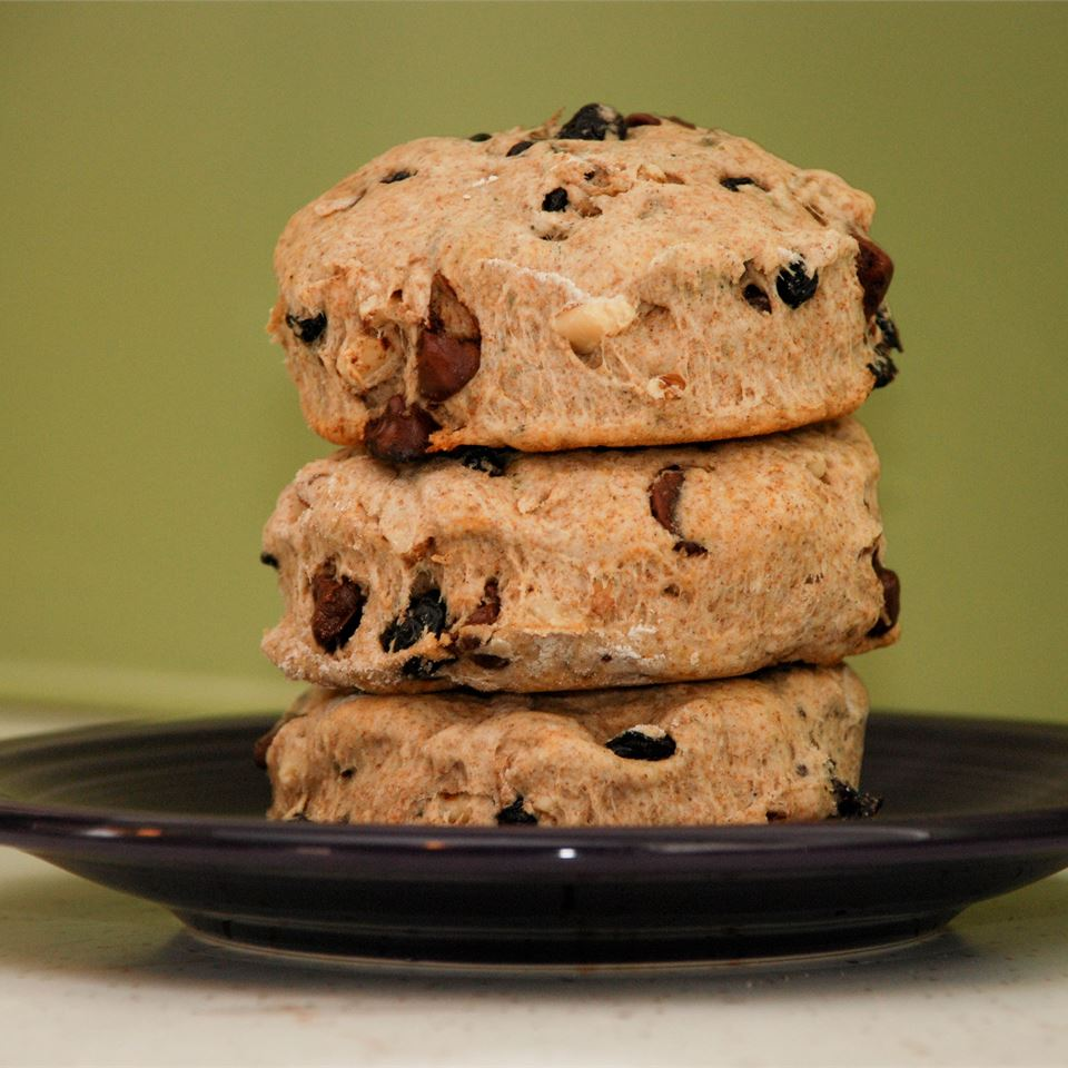 Date and Chocolate Chip Whole Wheat Scones Pamela Smith