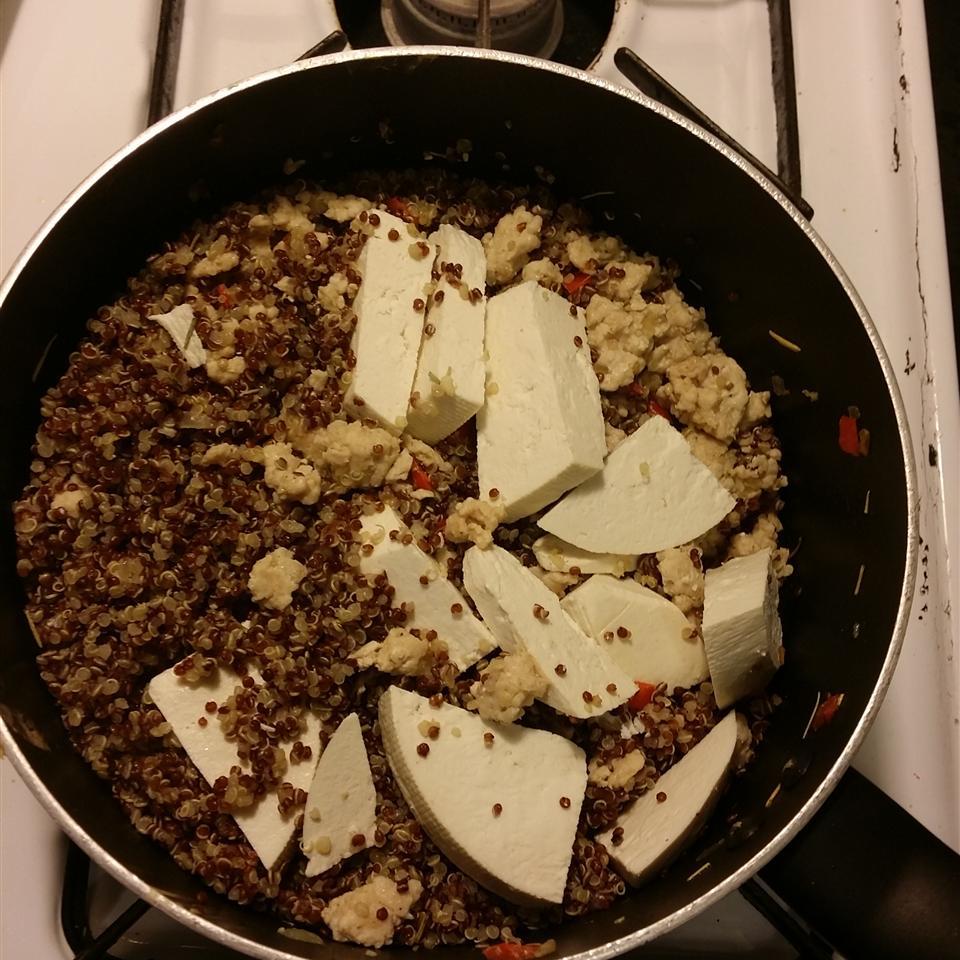 Quinoa with Ground Turkey livinhapaz