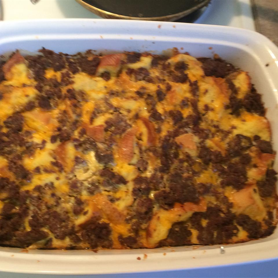 Easy Sausage Strata laceylgreen