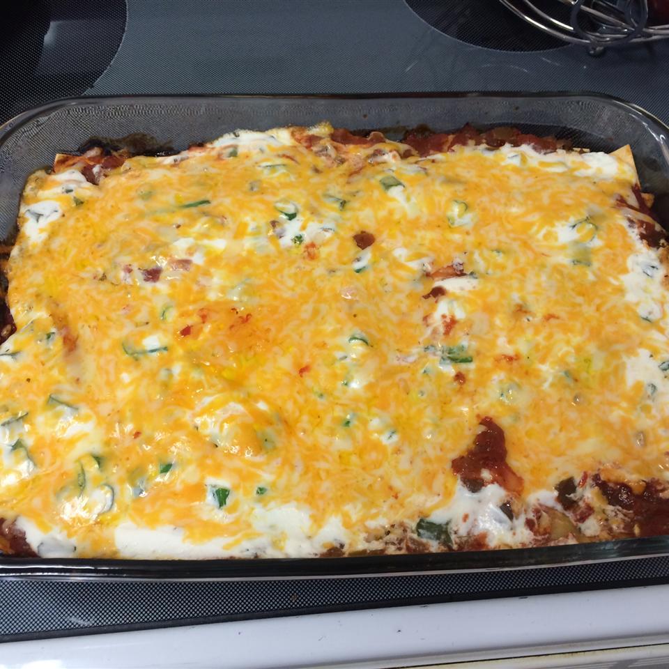 Mexican Lasagna with Noodles ajones