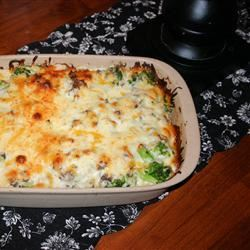 Broccoli Hamburger Casserole kerstyanne