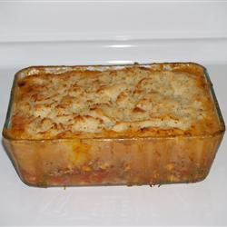 Easy Shepherd's Pie with Garlic Romano Potatoes SarahD