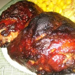 Baked Bar-be-Que Chicken