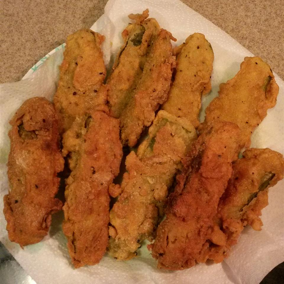 Deep Fried Dill Pickles