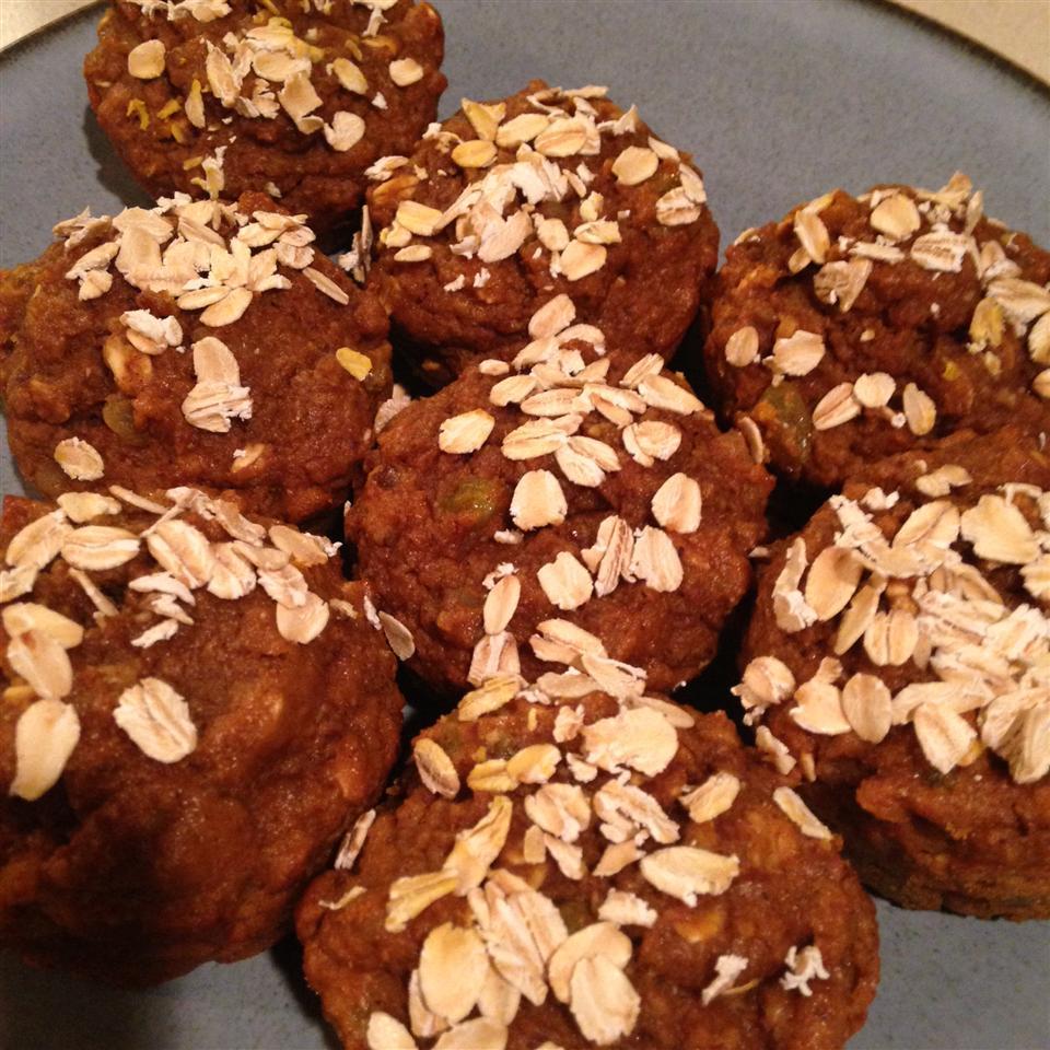 Spiced Pumpkin Molasses Muffins Darcie